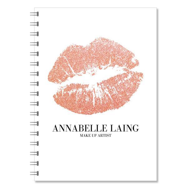 MakeUp Artist Personalised Notebook (NB-MUA-01)