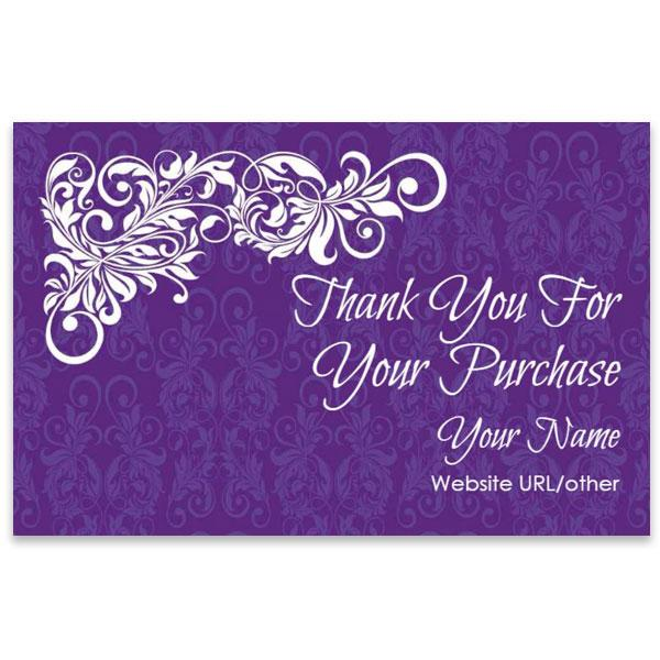 Thank You Cards (TY1-PURPLE-SS)