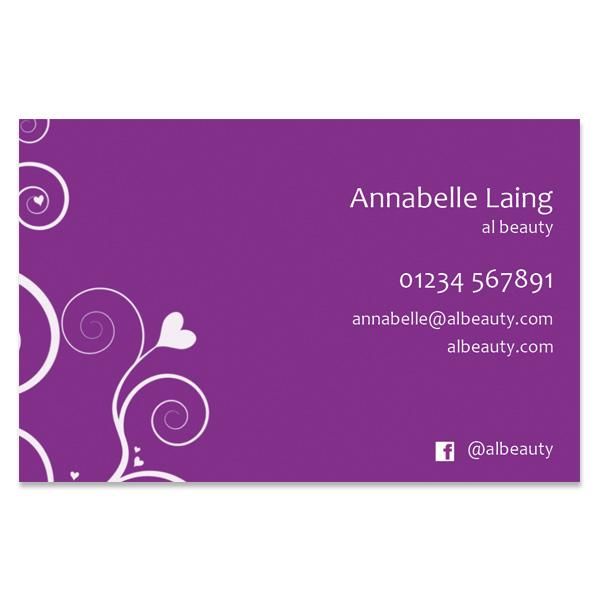 Business Cards (BC105PURPLE-SS)