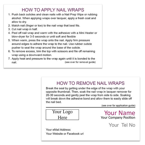 Application & Removal Guide