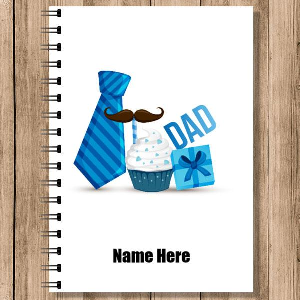 Personalised Notebooks (NB-DAD-3)