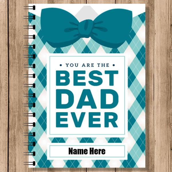 Personalised Notebooks (NB-DAD-4)