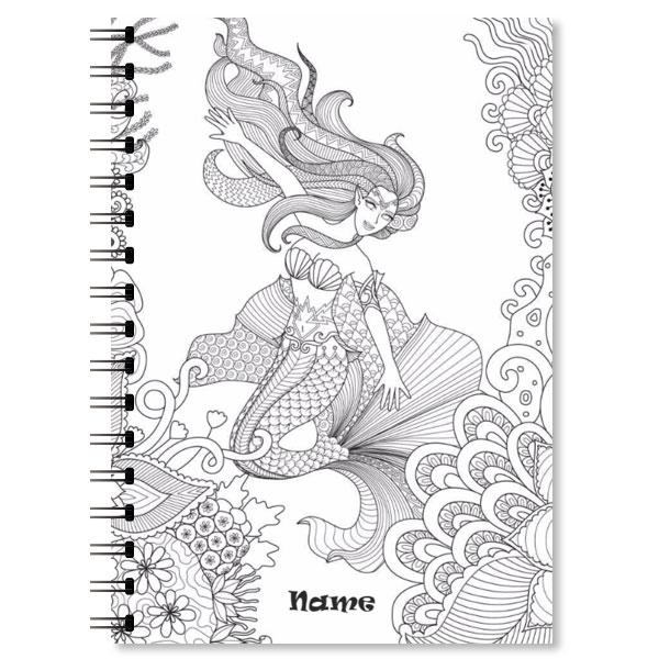 Personalised Mermaid Notebook (2)