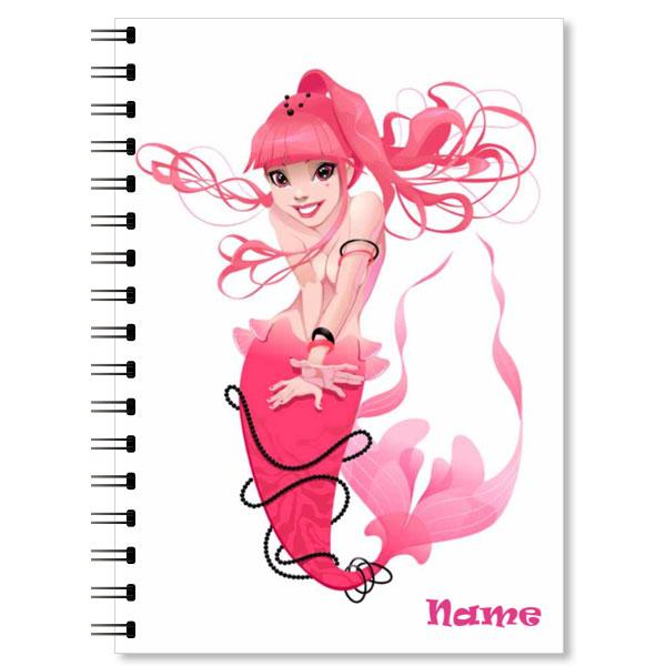Personalised Mermaid Notebook (4)