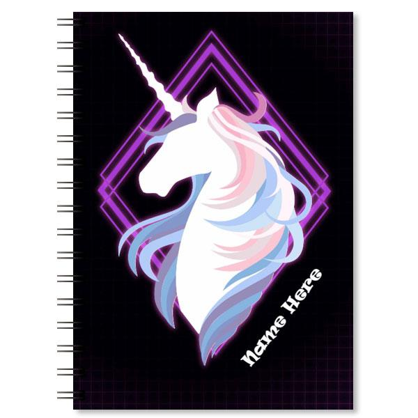 Personalised Unicorn Notebook (3)